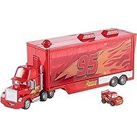 Disney - Cars Mack Trasportatore Racer Incluso-può Contenere Fino a 16 Mini Racers, FLG70
