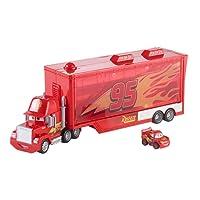 Disney Pixar Cars Mack Transporter Véhicule, FLG70, Multicolore