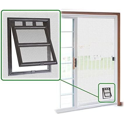 tiger doors proof after door system screen home flap screens page wire with pet