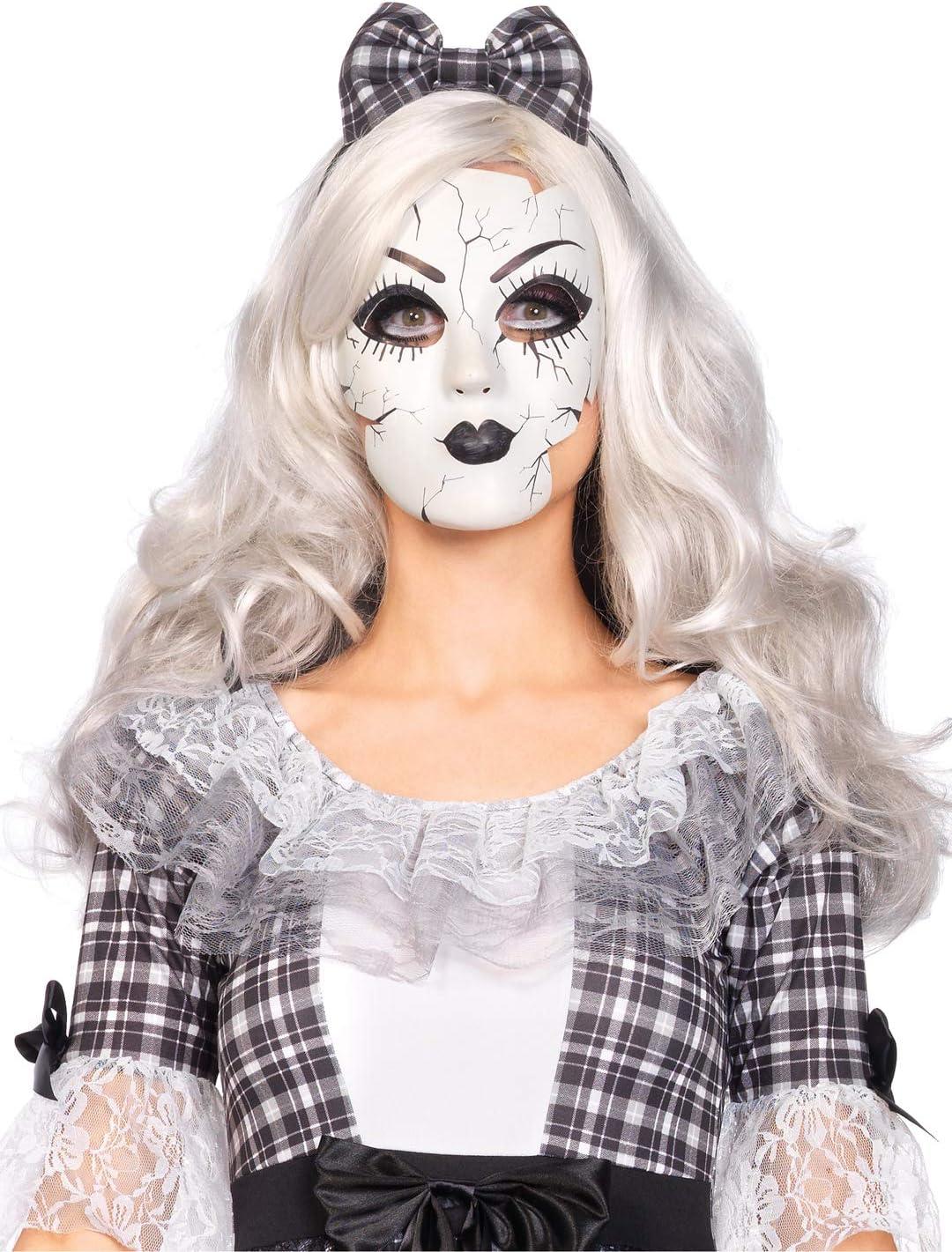 Donna Bambola SPEZZATA Costume Adulto Halloween Horror Costume Vestito
