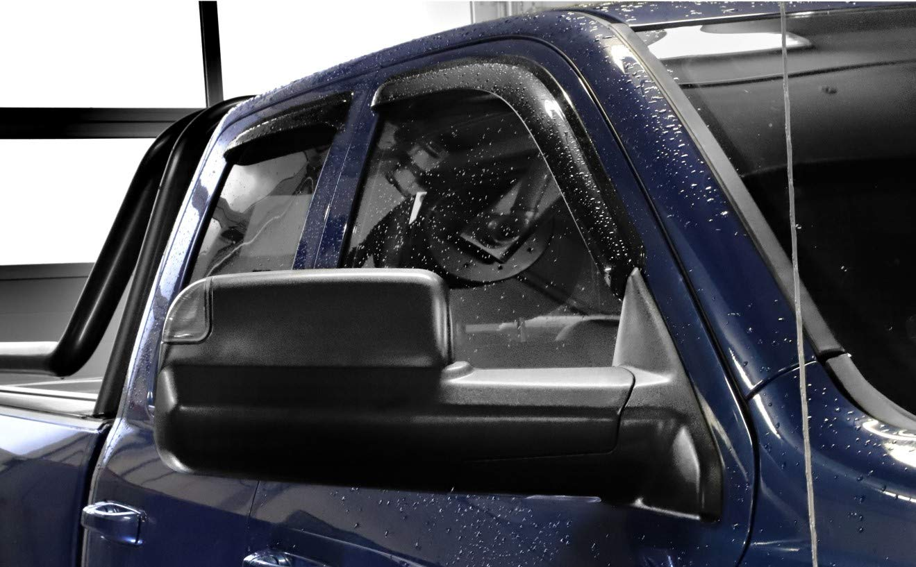 (Version Coller) Lot de 4Smoke Page scheib enwin dabweiser Crew Cab, Mega Cab modèles 09–17