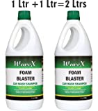 Wavex Foam Wash Car Shampoo 1 Ltr + 1 Ltr ( Set of Two)