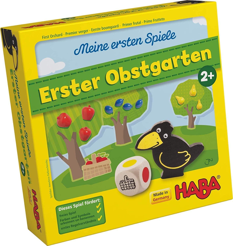 HABA Meine ersten Spiele Erster Obstgarten Würfelspiel Kinderspiel Spiele 4655