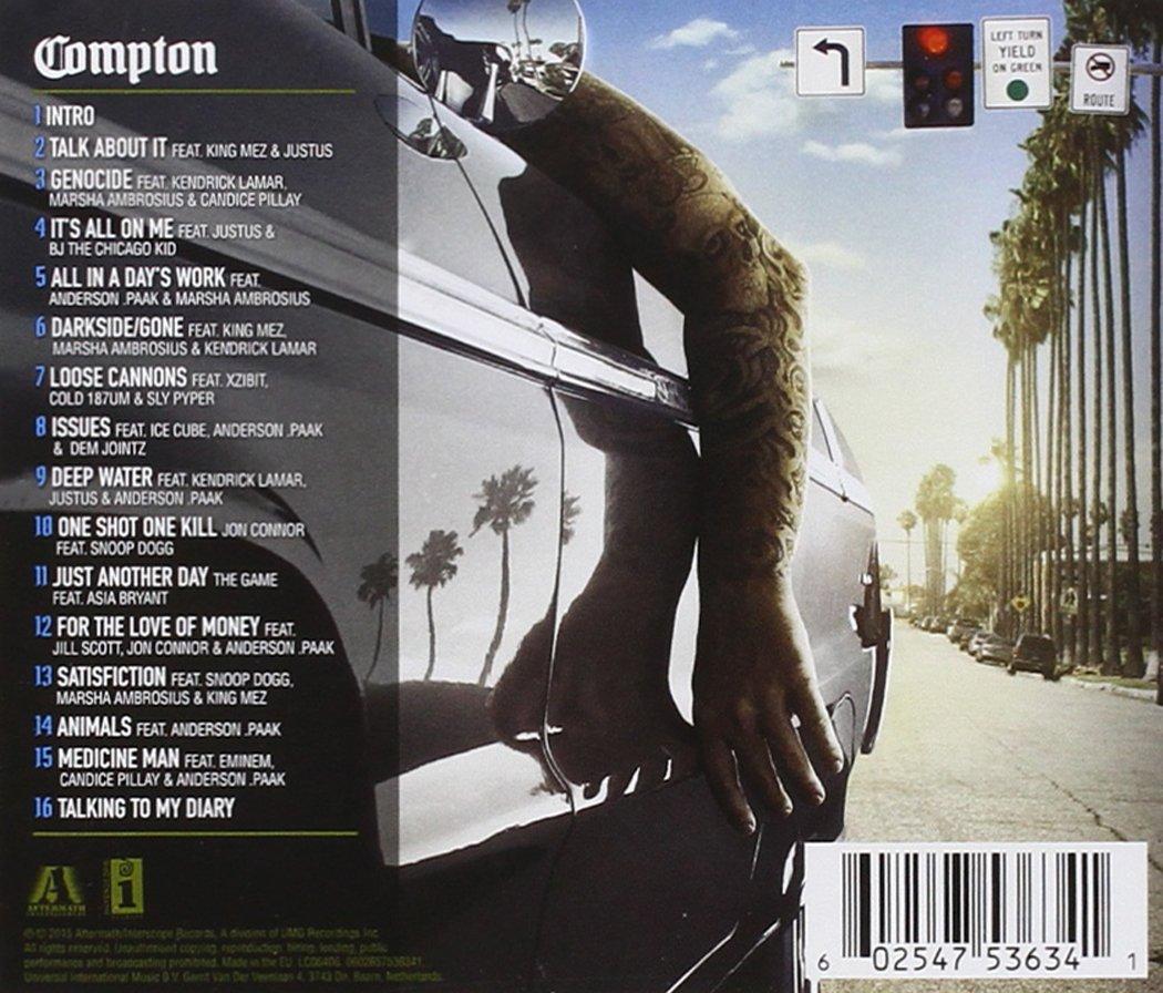 dr dre compton album listen free