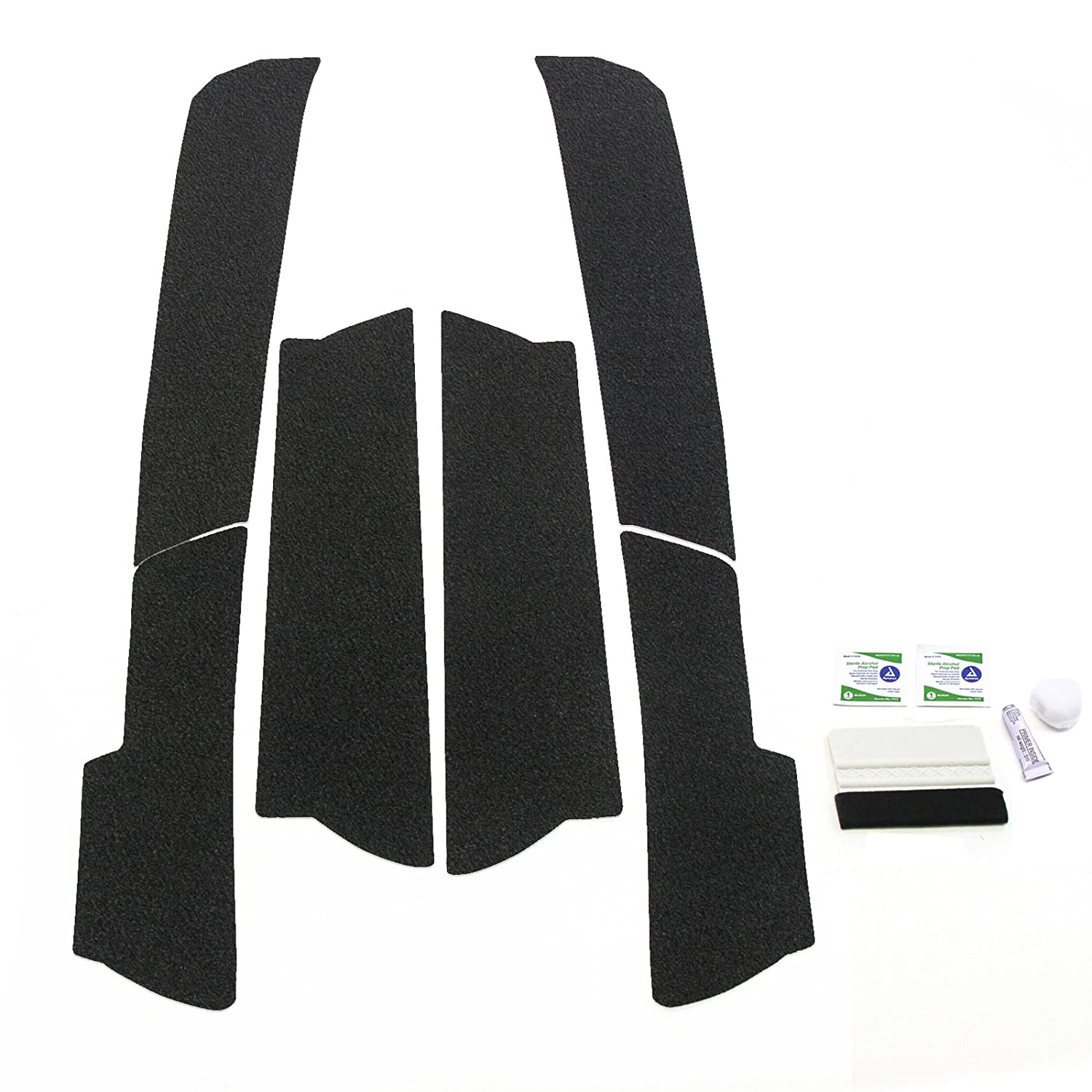 Red Hound Auto Door Entry Guards Scratch Shield 2011-2019 Compatible with Jeep Grand Cherokee 6pc Kit Paint Protector