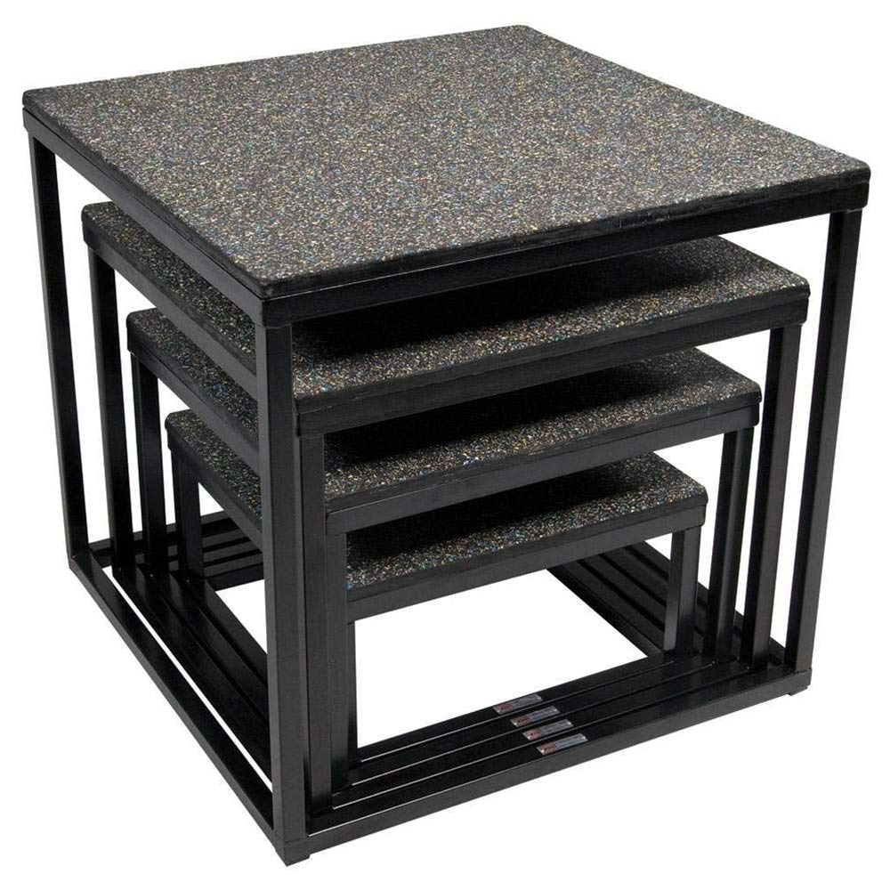 Power Systems Premium Power-Plyo Box, Black, Sold Individually
