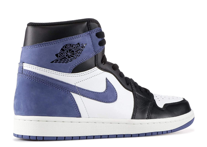 finest selection 08c95 7be9e Amazon.com  NIKE AIR Jordan 1 Retro HIGH OG  Blue Moon  - 555088-115  Shoes