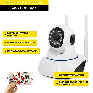 Cámara IP inalámbrica Wifi 960P HD Mobile Detección / Mensajes de alerta / Dual-Way Talk Seguridad de Seguridad en el Hogar para IOS y Andriod: Amazon.es: ...