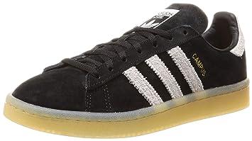 adidas Originals Campus Sneaker Damen schwarz hellgrau, 3.5 UK - 36 EU - 5 dc1e75d941