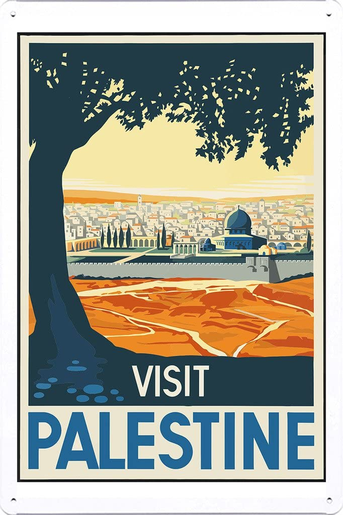 palestine palestine travel poster palestine poster palestine print palestine travel travel poster wall decor
