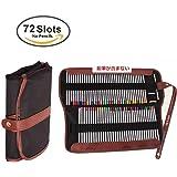 Niutop ペンシルホルダー 色鉛筆に適用72ホルダー 鉛筆ケース(鉛筆なし)