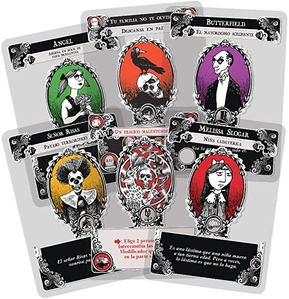 Edge Entertaiment - Juego de cartas Gloom (EEAGGL01): Amazon.es ...
