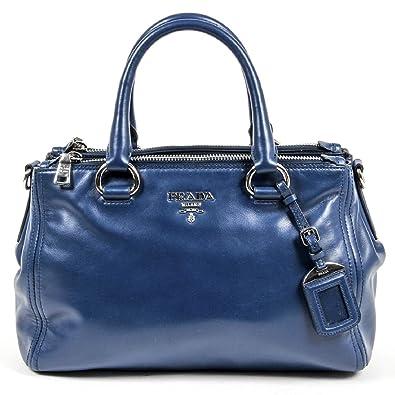 fe68f8836c Prada Ladies BN2866 Nero Soft Calf Tote Handbag  Amazon.co.uk  Shoes   Bags
