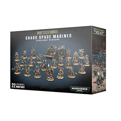 Games Workshop Warhammer 40,000 Chaos Space Marines Vengeance Warband: Toys & Games