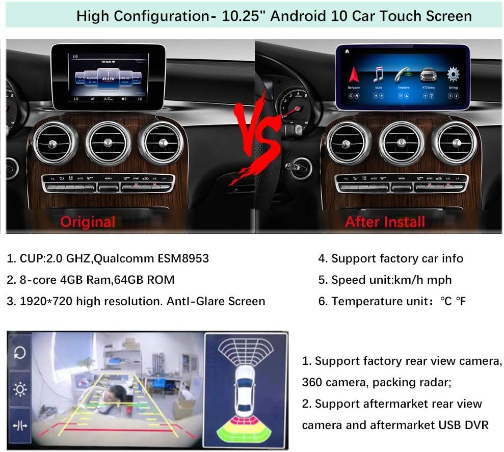 Road Top Android 10 Auto Stereo 10 25 Touchscreen Für Elektronik