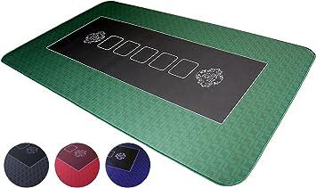 Bullets Playing Cards Alfombra de póker Profesional de 100 x 60 cm ...