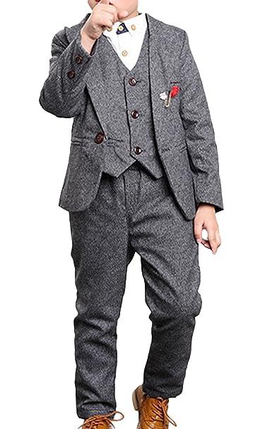 cd230baf9415f C-Princess かっこいい 男の子 スーツ 紳士服 ジャケット ベスト ズボン ジュニア ボーイズ キッズ 子供 フォーマル