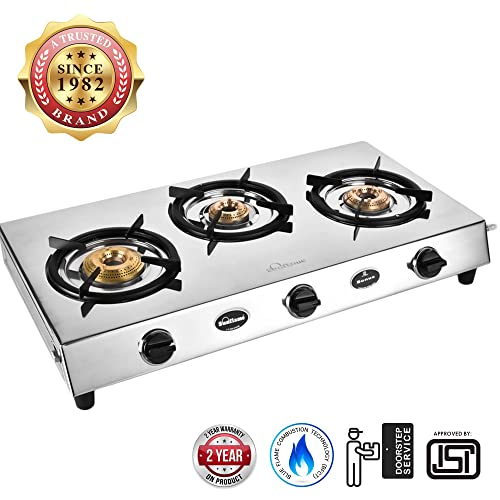 7. Sunflame stainless steel bonus Gas Stove