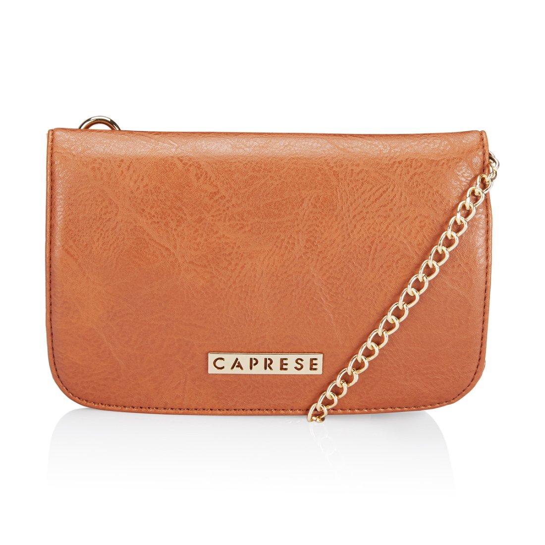Caprese Mira Women's Sling Bag (Tan)