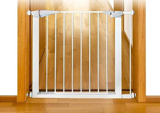 PETGARD - Barrera de Seguridad para Perros, protección para escaleras, sin Agujeros: Amazon.es: Productos para mascotas
