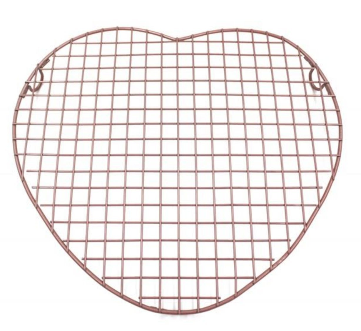 American Confections Heart Baking Cookie Cooling Rack