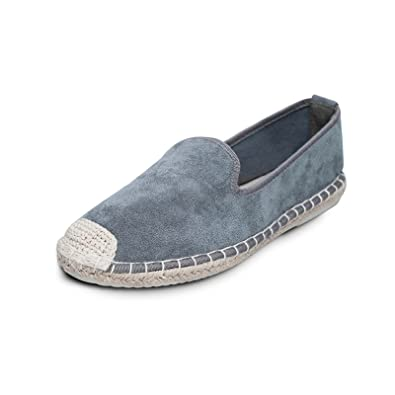 942220f536 Casual Fashion Loafer Slip on Comfortable Shoes for Women & Ladies, Women's  Classic Flat Espadrille