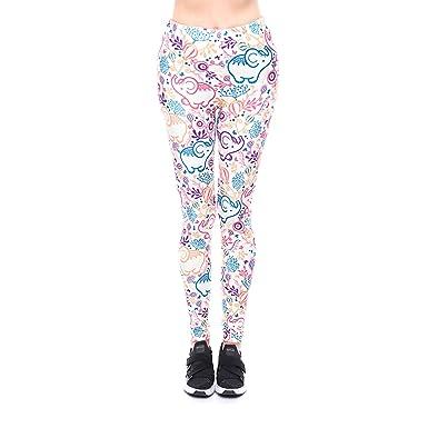 Yumilok Mallas Deportivas Mujer Leggins Yoga Pantalon ...