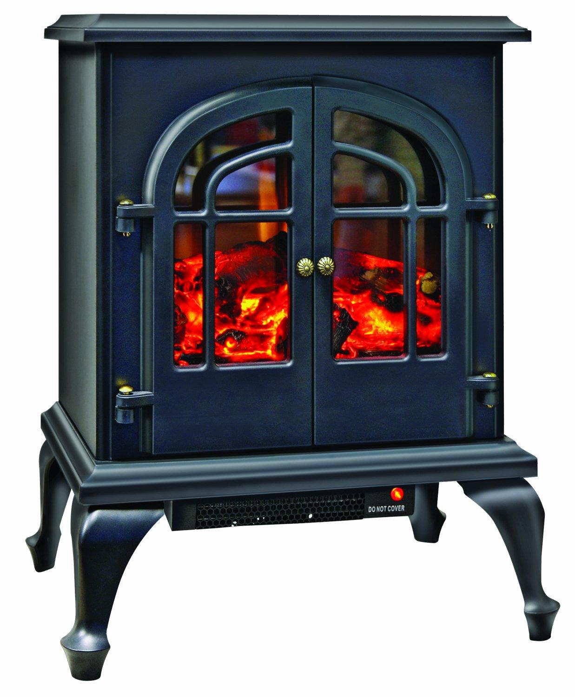amazon com comfort zone mini ceramic electric fireplace stove