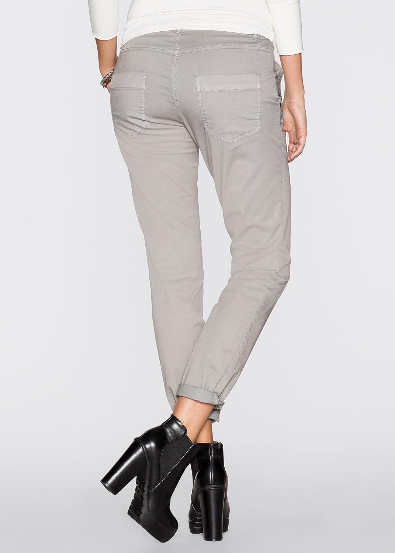733f3f1a7115be Damen Hose in Gr. 44 Orange Low Crochet Stretch Loose Fit 945083:  Amazon.de: Bekleidung