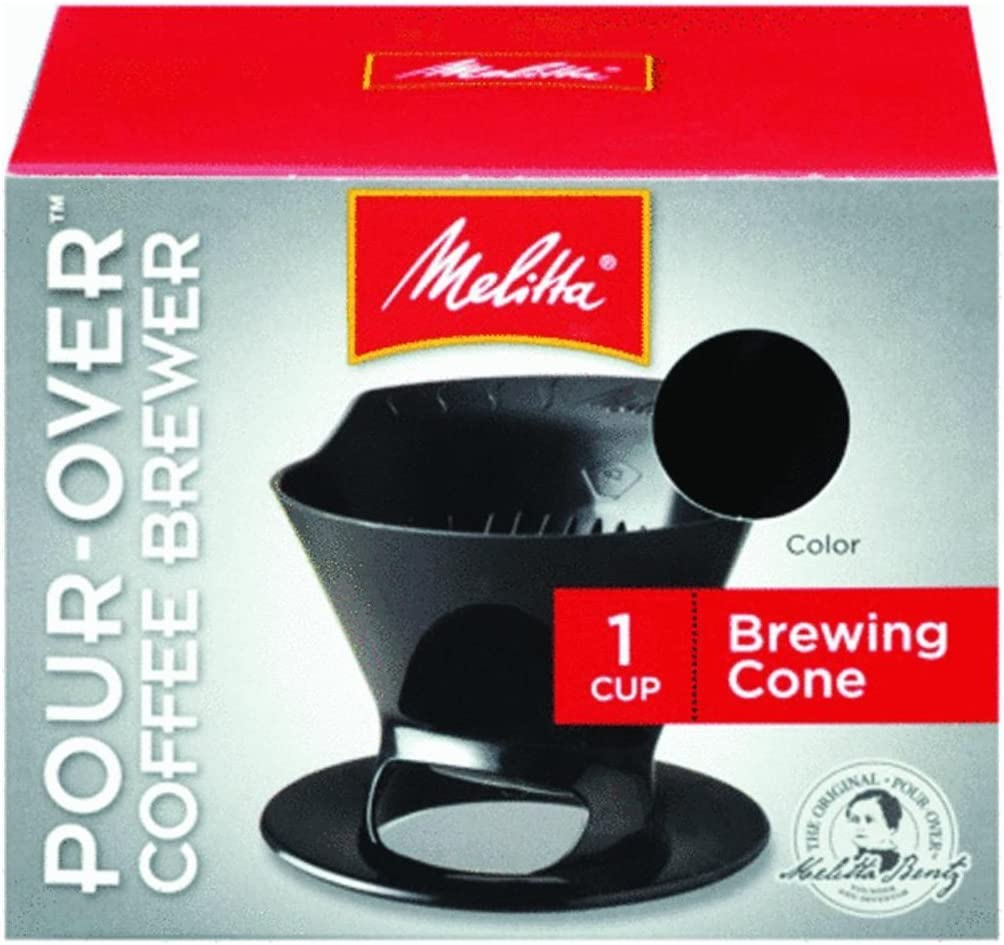 Melitta Ready Set Joe Single Cup Coffee Brewer black - 3 Pack