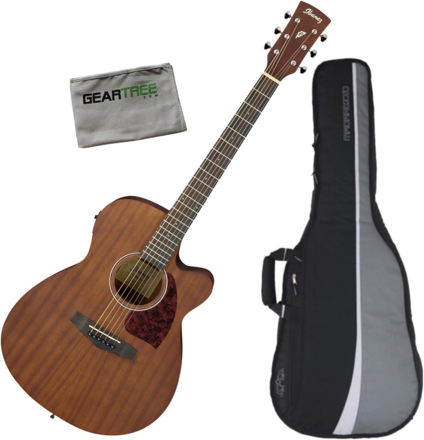 Ibanez PC12MHCEOPN Grand Concert - Guitarra acústica eléctrica de ...