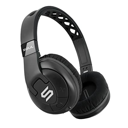 33c4428bac3 SOUL Electronics X-TRA Performance Bluetooth 4.0 Wireless Over-Ear  Headphones for Sports.