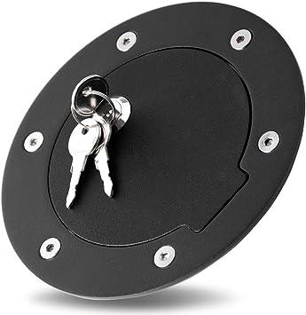 Bully BBS-1231CK Billet Aluminum Fuel Door with Lock