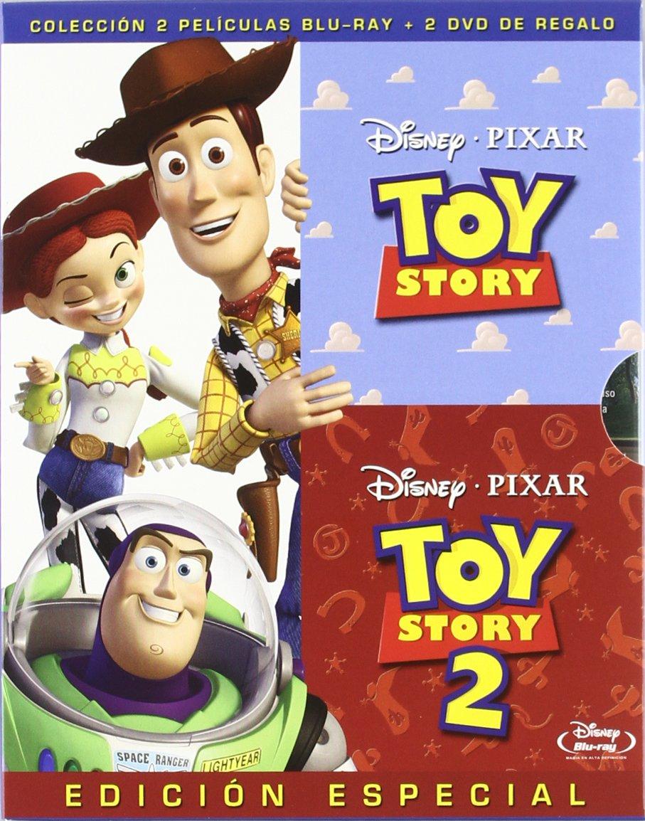 Pack Toy Story + Toy Story 2 [Blu-ray]: Amazon.es: Varios: Cine y ...