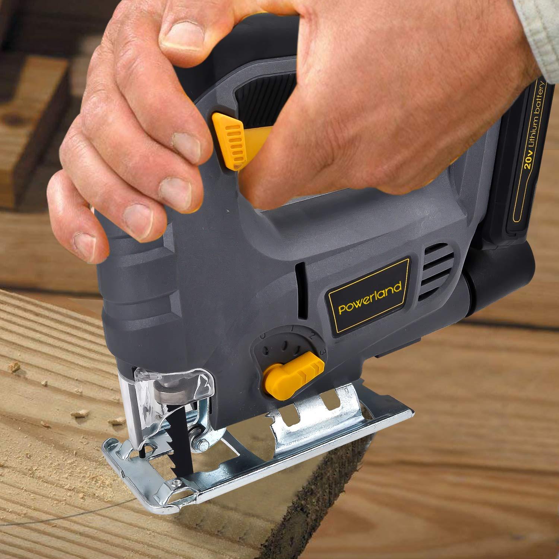 Powerland JS02 Brushed jig saw …