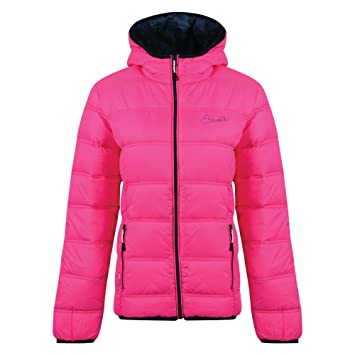 Dare2b Damen Daunenjacke Lowdown Jacket Cyber pink: Amazon