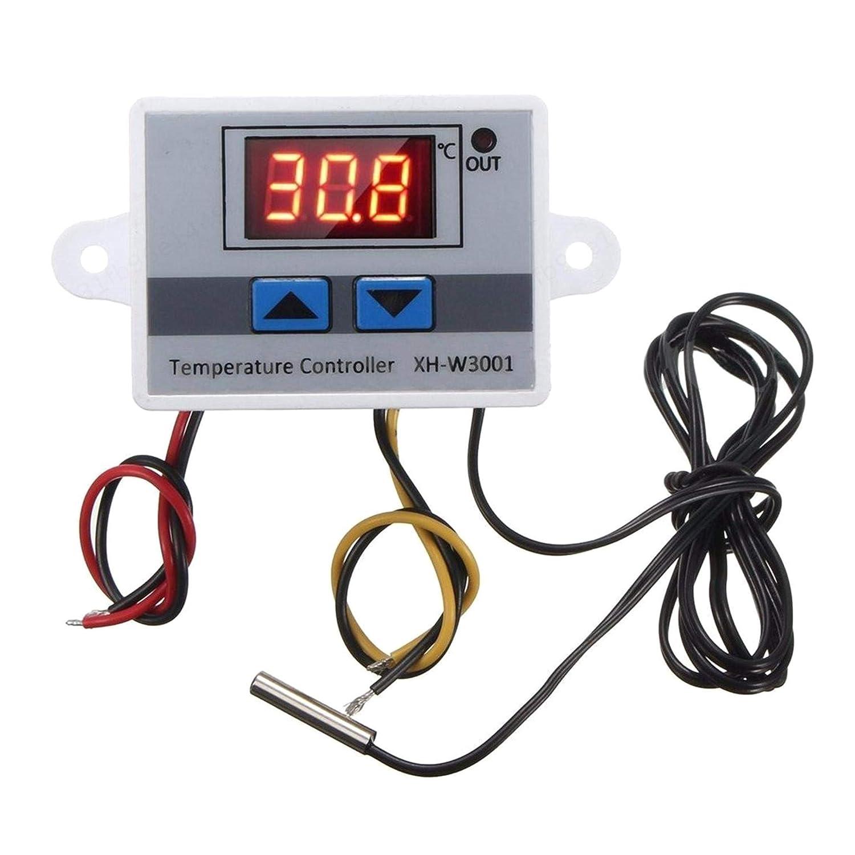 ZXYAN Controlador Digital de Temperatura Sonda de Interruptor de Control de termostato 220V 10A