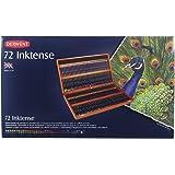 Derwent Inktense Tinteneffektstifte in Holzbox 72 Stück
