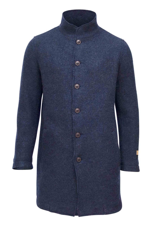 Ivanhoe GY Mark Carcoat Wollmantel (Light-Navy)