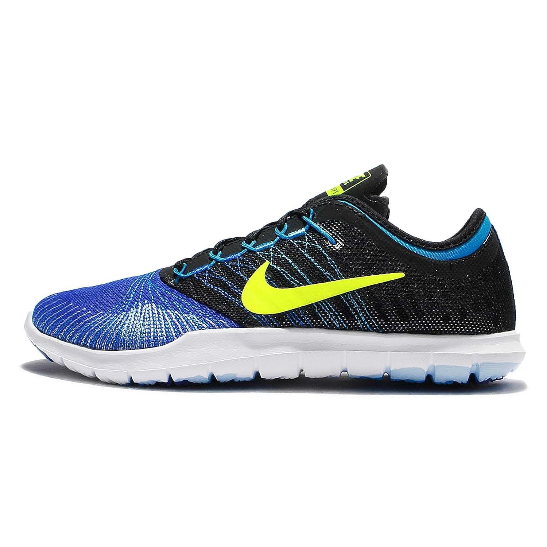 NIKE Women's Flex Adapt Tr Cross Trainer Shoes B019HDRN1E 6.5 B(M) US|Racer Blue/Volt-black-blue Glow