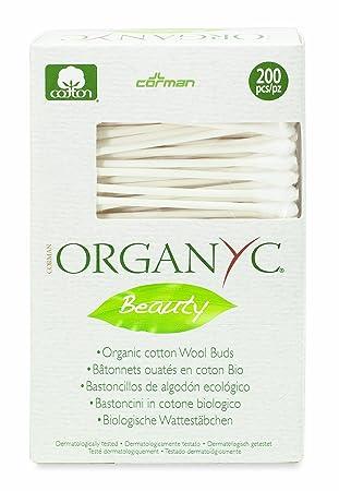 Organyc Wattestäbchen aus 100% biologischer Baumwolle in biologisch ...