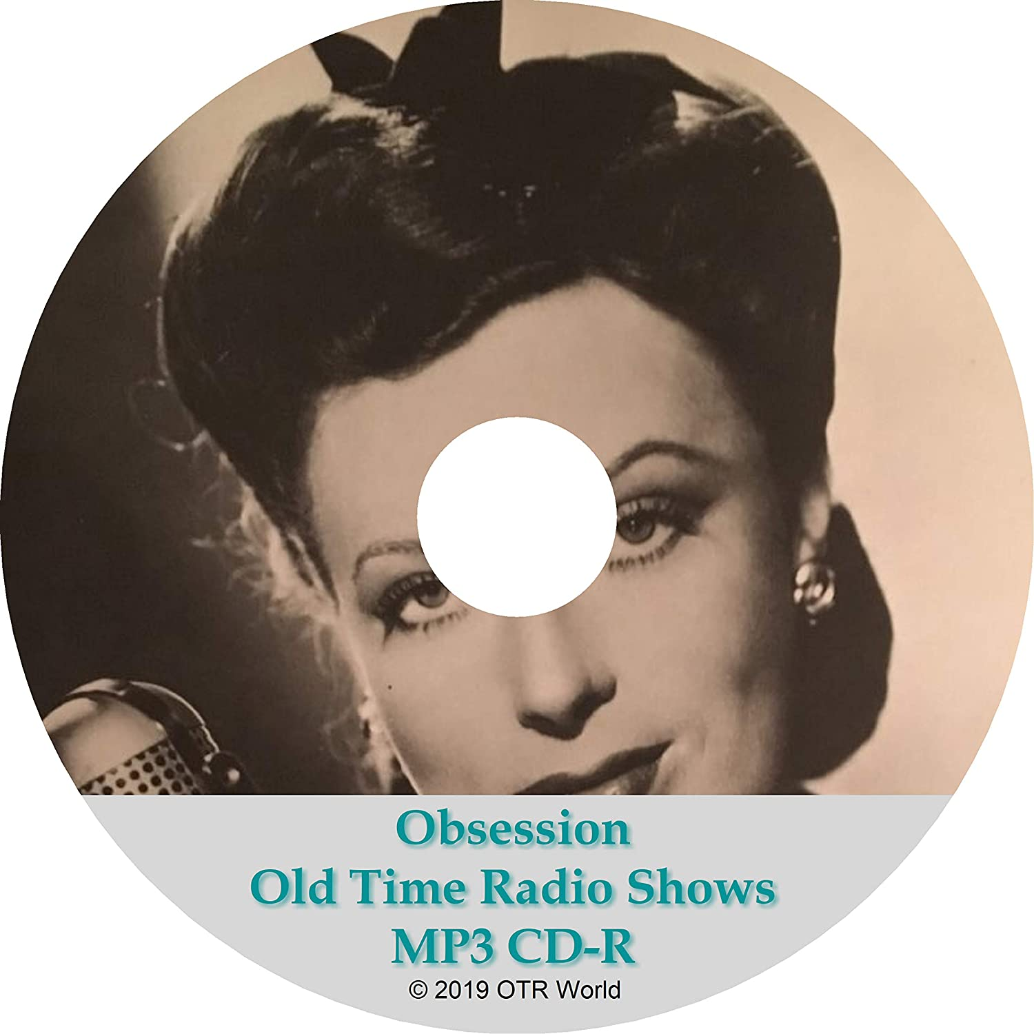 Obsession Old Time Radio Shows OTR OTRS 20 Episodes MP3 CD-R