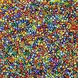 Miyuki 11/0Delica Graines de perles Mix Rainbow AB 7,2G Db-mix17