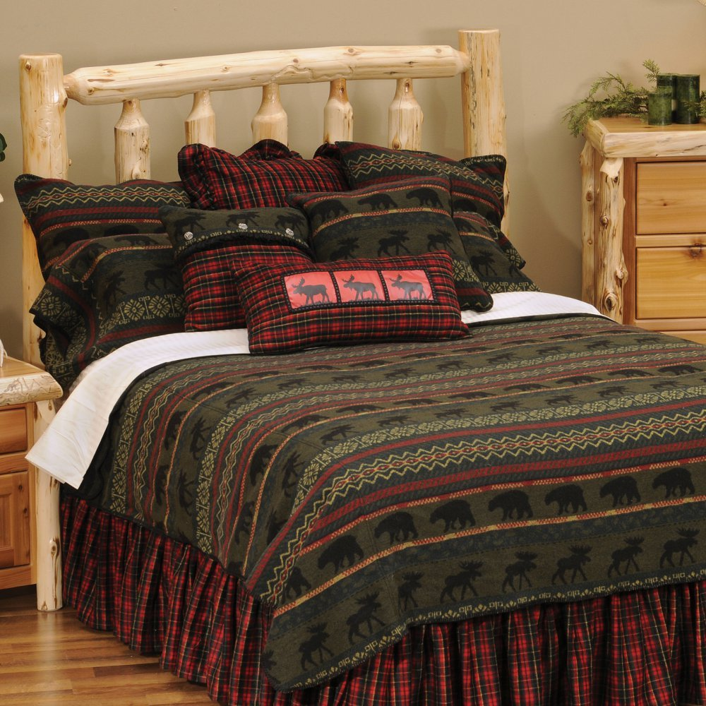 Wooded River WDK26 106 by 92-Inch King Bedspread