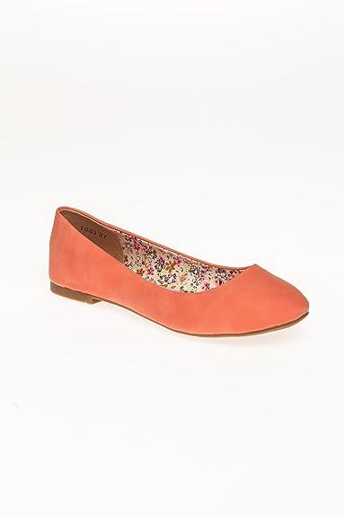 6e19b922d879c CHAUSSURES FEMME Ballerines Just Women Saumon  Amazon.fr  Chaussures ...