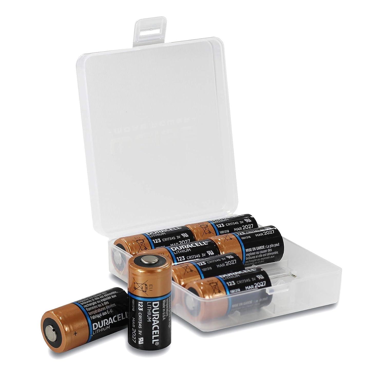 10x Alkaline Batterie CR123a für Gigaset Elements Motion