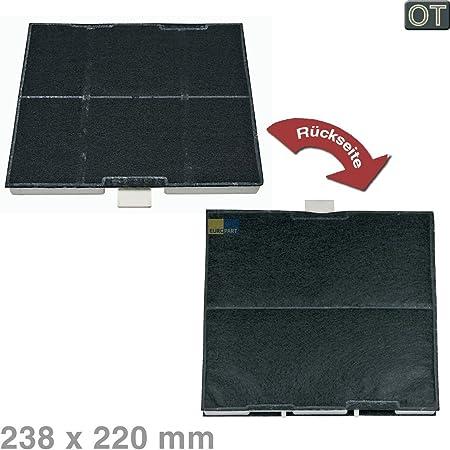 Bosch Siemens 00744075 - Filtro de carbón activo para campana extractora de humos (238 x 220 mm, también para accesorios DHZ5226 LZ52251 Z5131X1 / Neff Z5131X1 / Constructa C513Z1X5): Amazon.es: Hogar