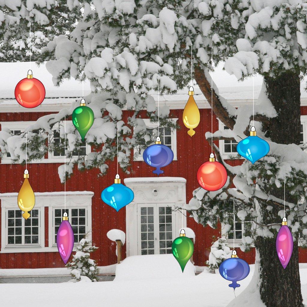 Amazon.com: Christmas Yard Decorations - Vintage Hanging Christmas ...