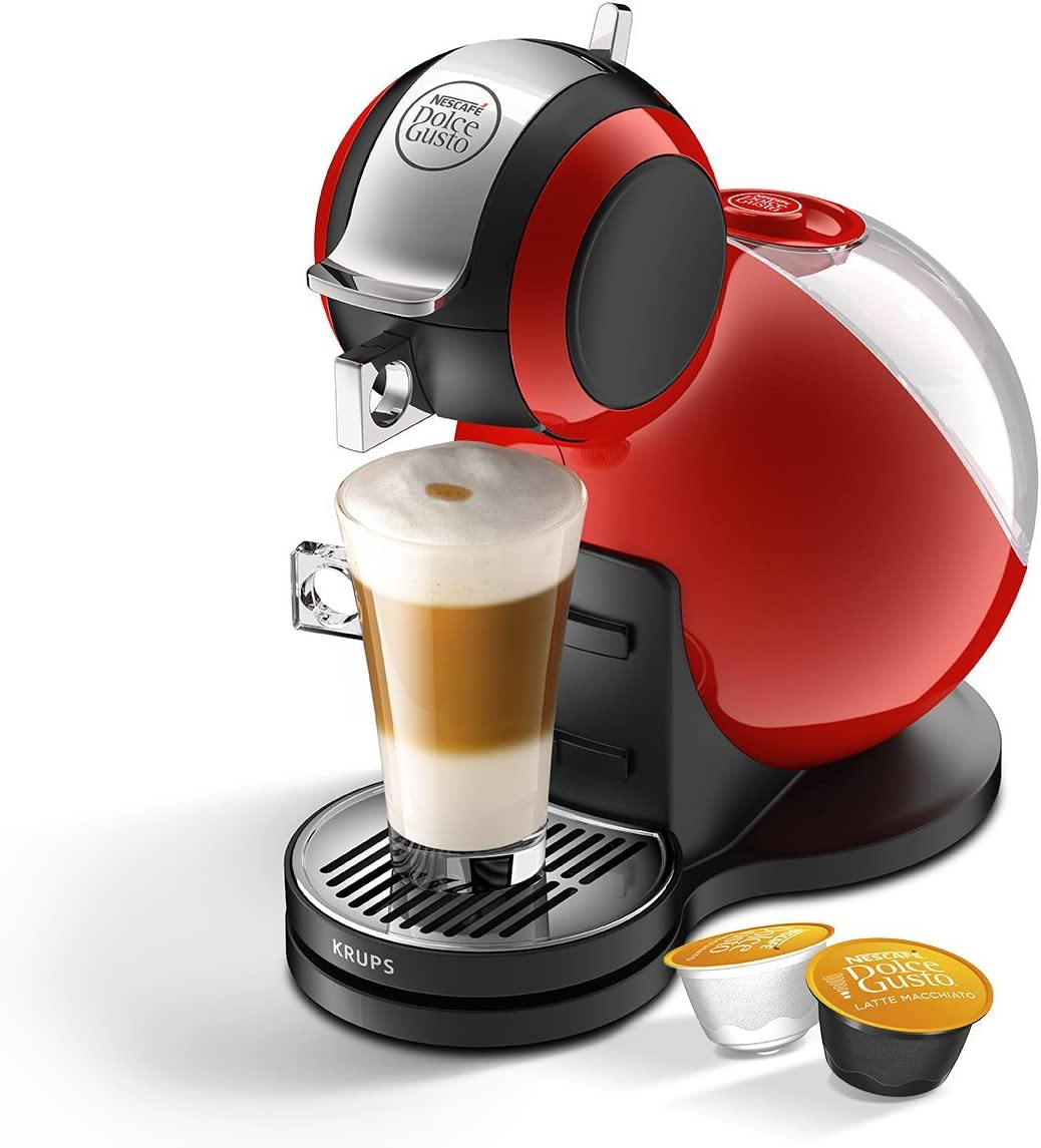 NESCAFE Dolce Gusto Melody 3 Manual Coffee Machine by Krups - Red ...