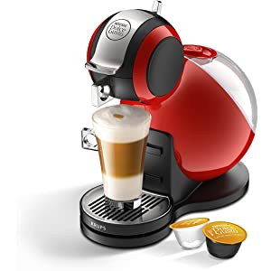 Nescafe Dolce Gusto Piccolo Manual Coffee Machine By Krups Red